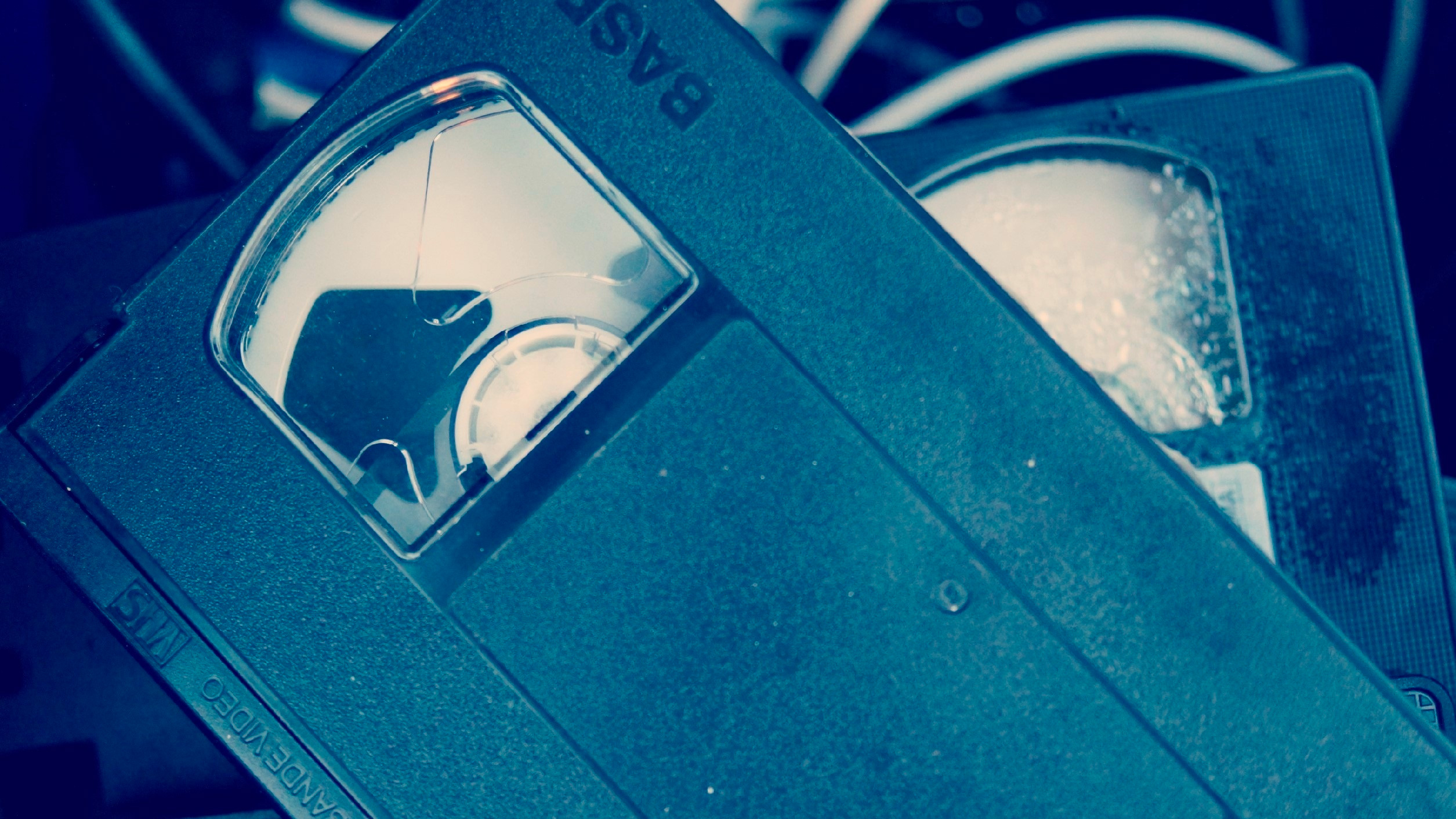 Picture of VHS Tapes