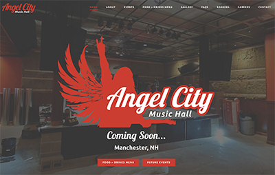 Angel City Music Hall Website