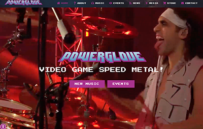 Powerglove Website