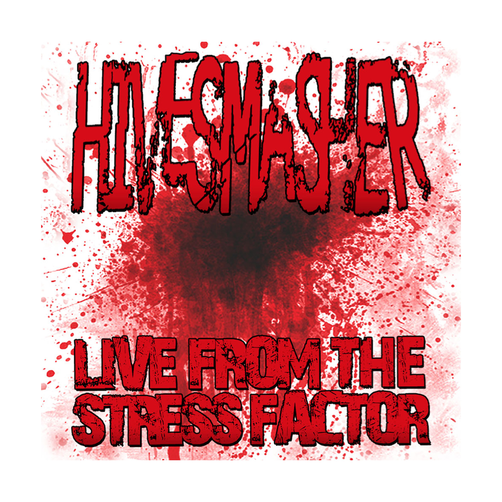 Hivesmasher Live at the Stress Factor Live Set Artwork