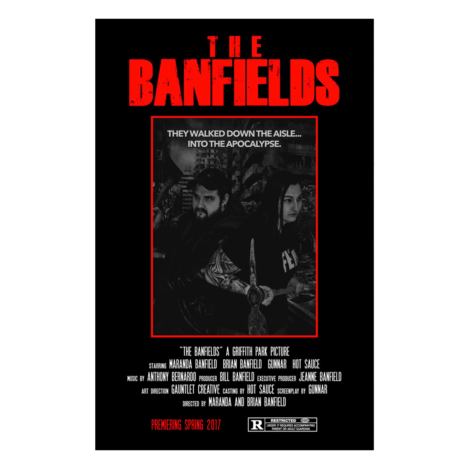 The Banfields Wedding Movie Poster
