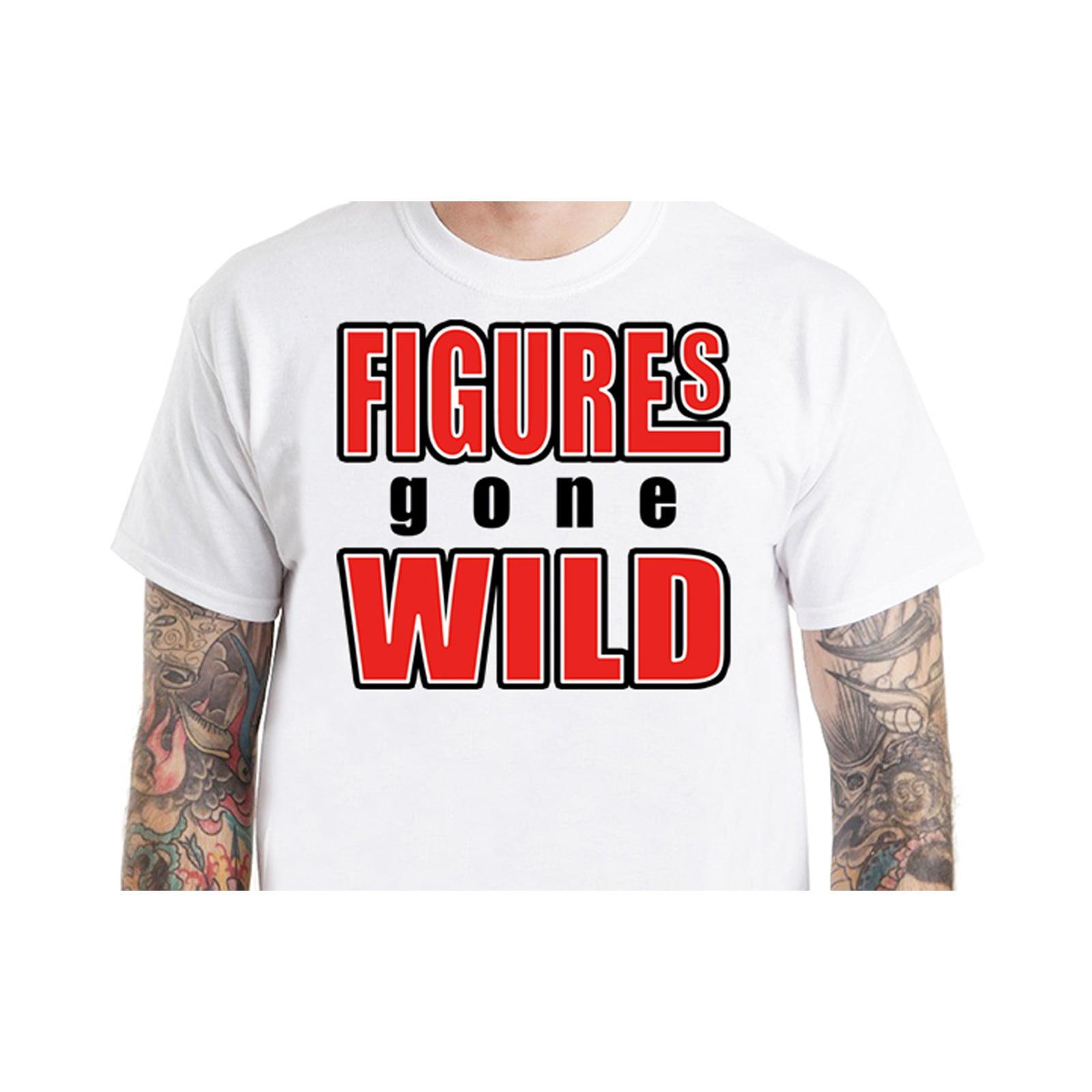Figures Gone Wild T-Shirt Design