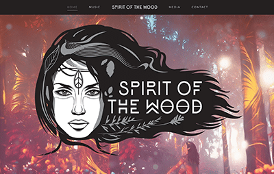 Spirit of the Wood Website